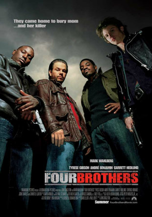 Four Brothers 2005 Dual Audio Hindi 300MB BluRay 480p x264