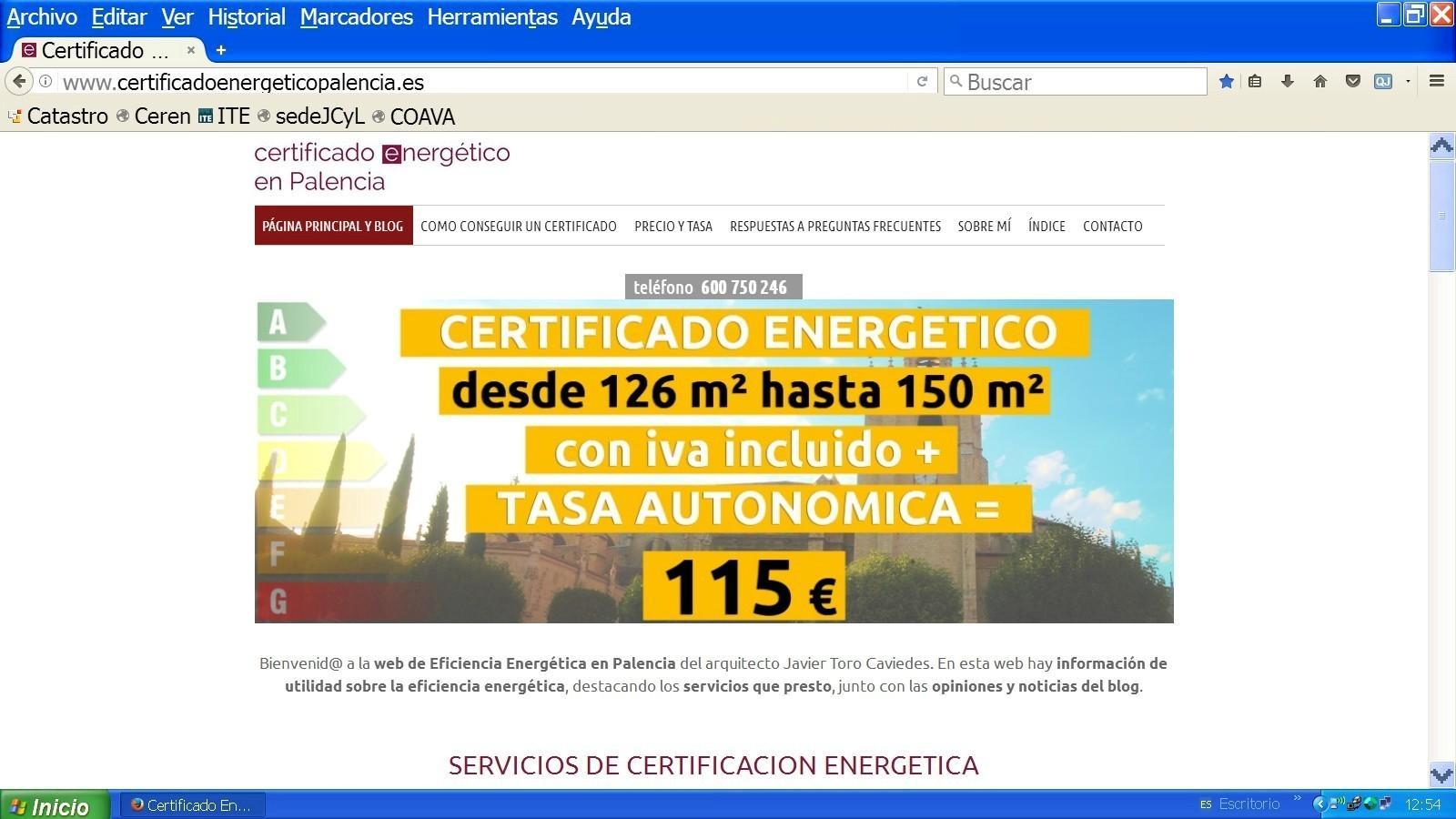 certificado de eficiencia energetica en palencia
