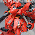 "MG 1/100 Sazabi Ver. Ka with Huge Backpack Tanks"" - Custom Build with Customized Casing"