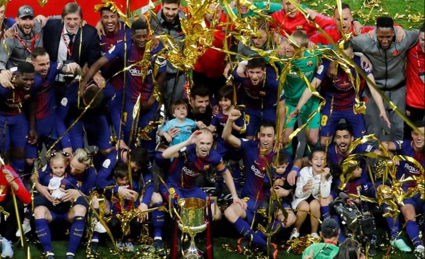 Imágenes Barcelona Campeón Copa del Rey 2018