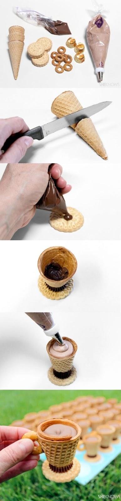 DIY cone cup