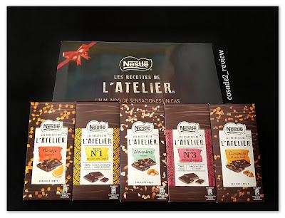 Cinco variedades de Les Recettes de L'Atelier