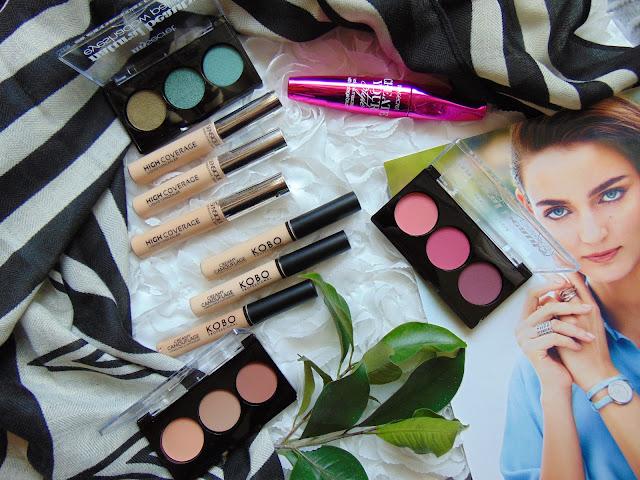 Nowości do makijażu dostepne w Drogerii Natura