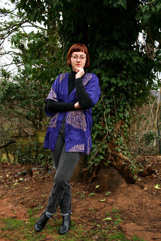 love justly fair trade kimono jacket