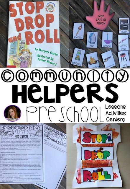 Are you looking for a fun hands-on community helper and fire safety themed unit that revolves around amazing stories and is appropriate for your preschool classroom? Then, you will love Community Themed Helper and Fire Safety Unit for Preschool.