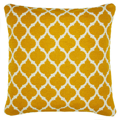 John Lewis Miko Floor Cushion (Saffron)