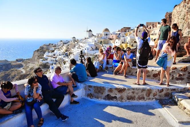 Santorini family trip