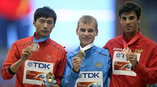 ATLETISMO - La sanción a Alexander Ivanov sube a Miguel Ángel López al metal de plata en el Mundial de Moscú 2013