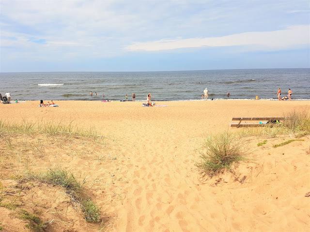 strand nära Riga