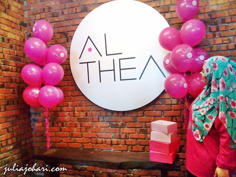 ALTHEA Turns 1 Sambutan PINK Party Cukup GLAMOR!