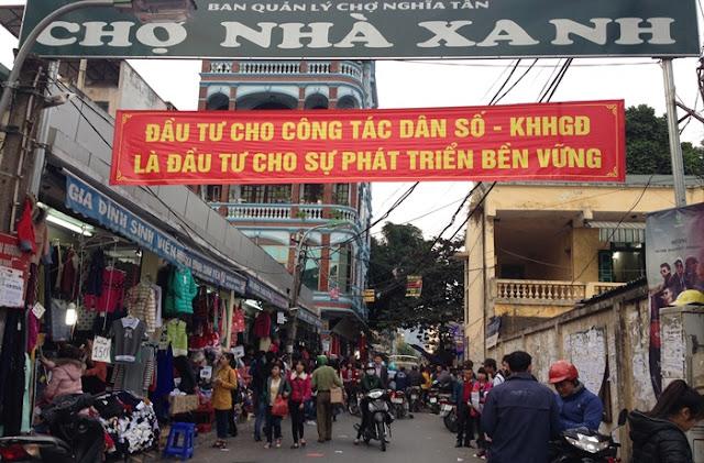 Chợ Nhà Xanh - Hà Nội