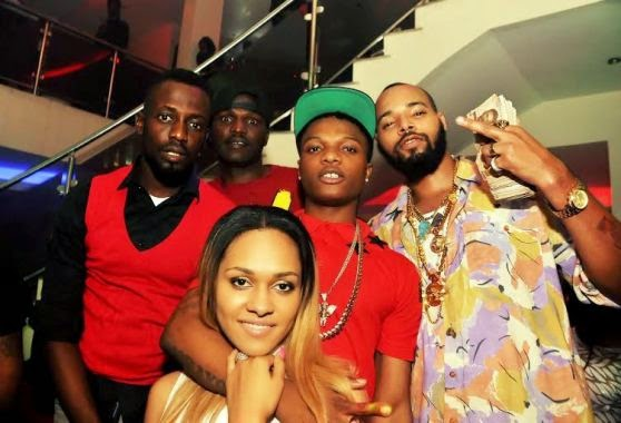 001 Photos: 2face, Wizkid, Sasha attend PREs 25th birthday party