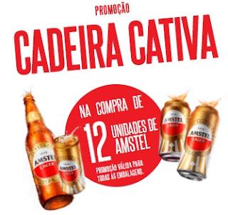 Cadastrar Promoção Cerveja Amstel 2017 Cadeira Cativa