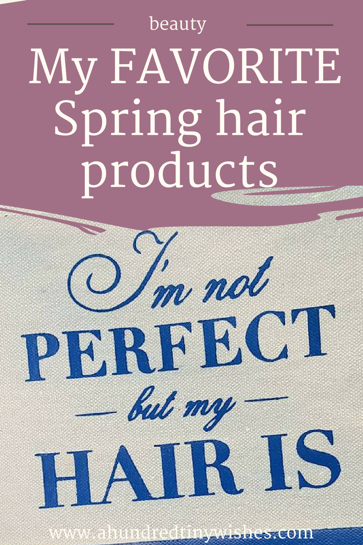Hair, beauty products