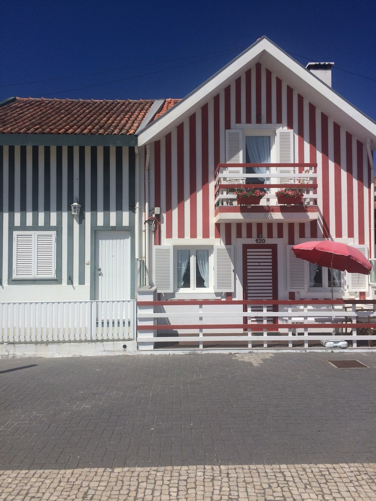 Aveiro, Portugal, striped houses, what to see in Costa Nova, travel blog
