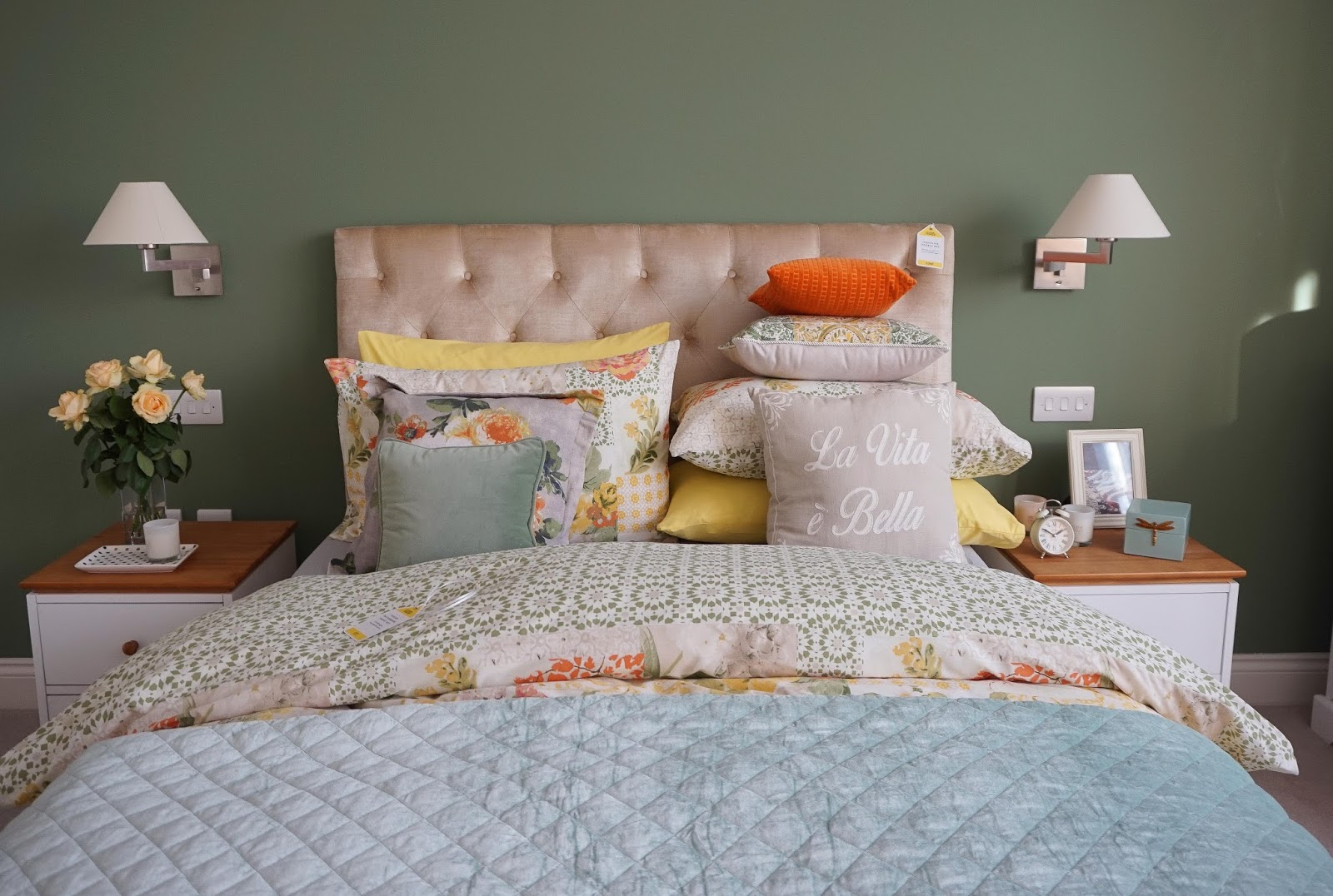 Side street style redecorating your bedroom on a budget for Redecorating bedroom