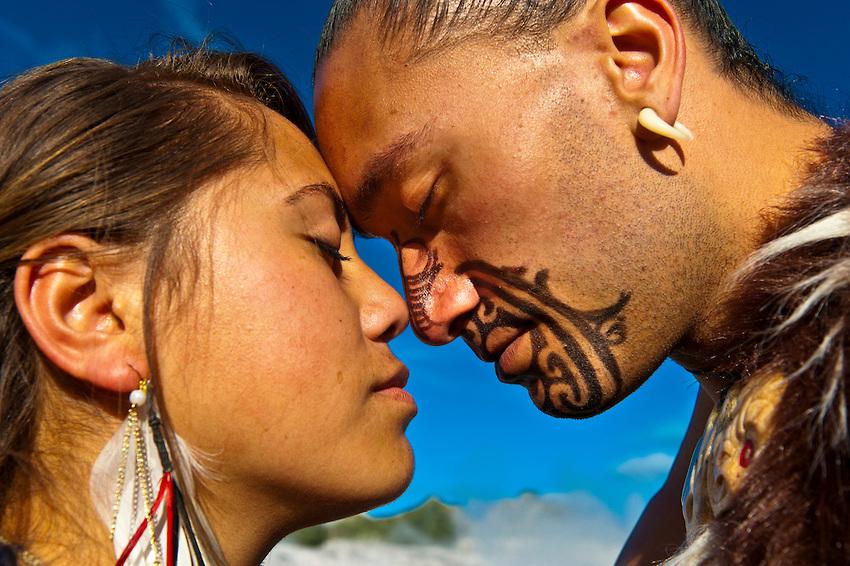 Maori Greeting Hongi: White Wolf : Maori Elders Explain The Meaning Of The Hongi