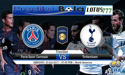 Prediksi Pertandingan antara Paris Saint Germain vs Tottenham Tanggal 23 Juli 2017