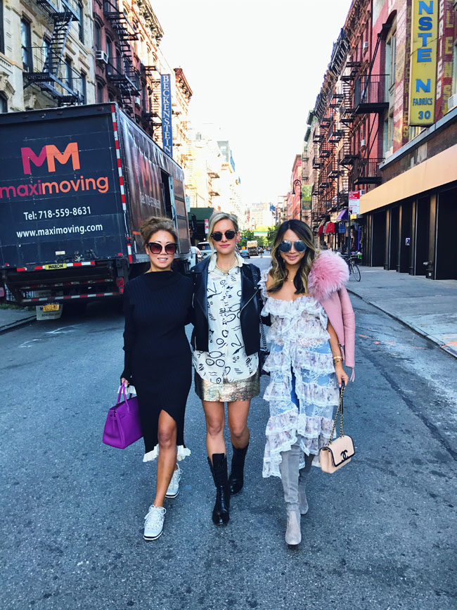 How to Style a Duster Top, NYFW Street Style, Chicago blogger in NYFW, Jennifer Worman of Red soles and Red Wine