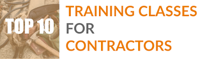 top ten construction training classes for contractors