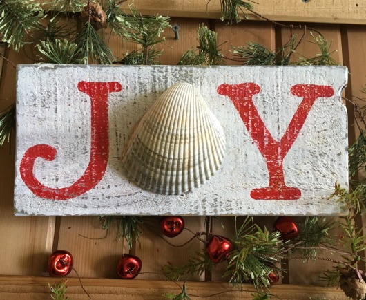 Simple Joy Christmas Sign