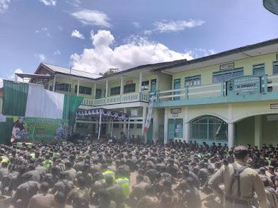 Apel Siaga Banser Wonosobo dan Banjarnegara, Tangkal Radikalisme Masuk Pesantren