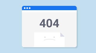 Cara Mudah Menghapus Halaman Error 404 Not Found Blog di Webmaster Tools