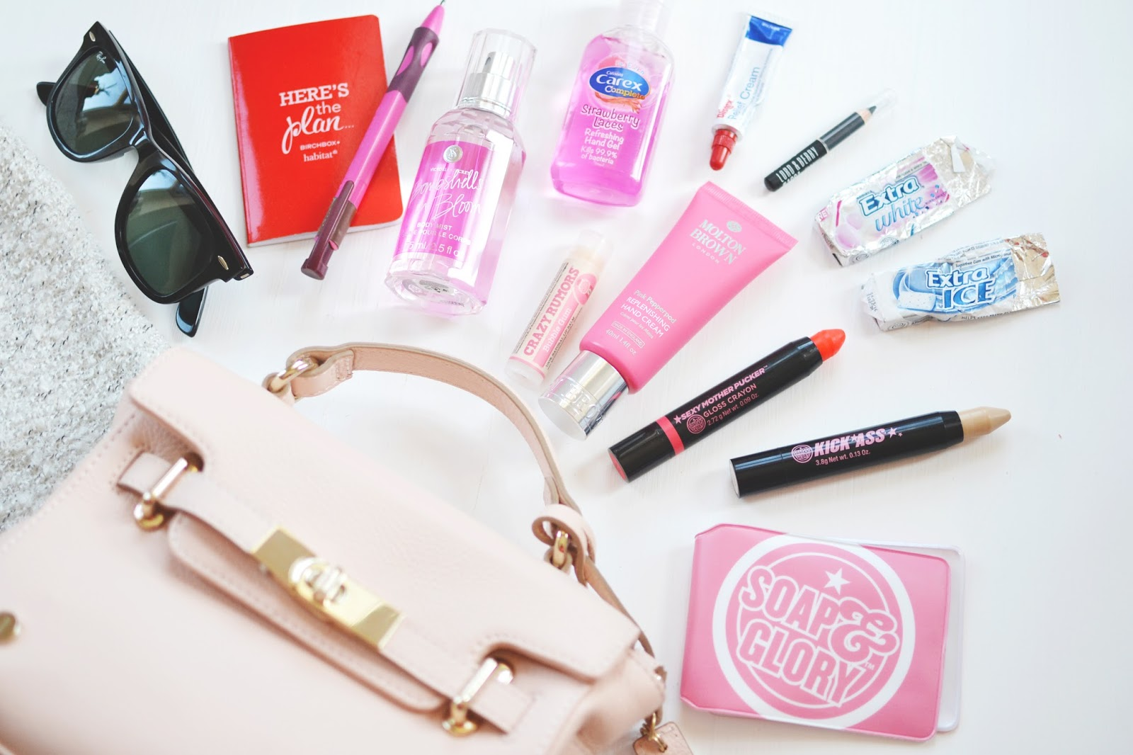Fashion blogger's what's in my bag