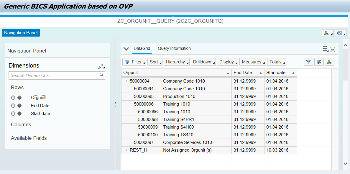 SAP ABAP Central: How to consume a hierarchy in CDS view