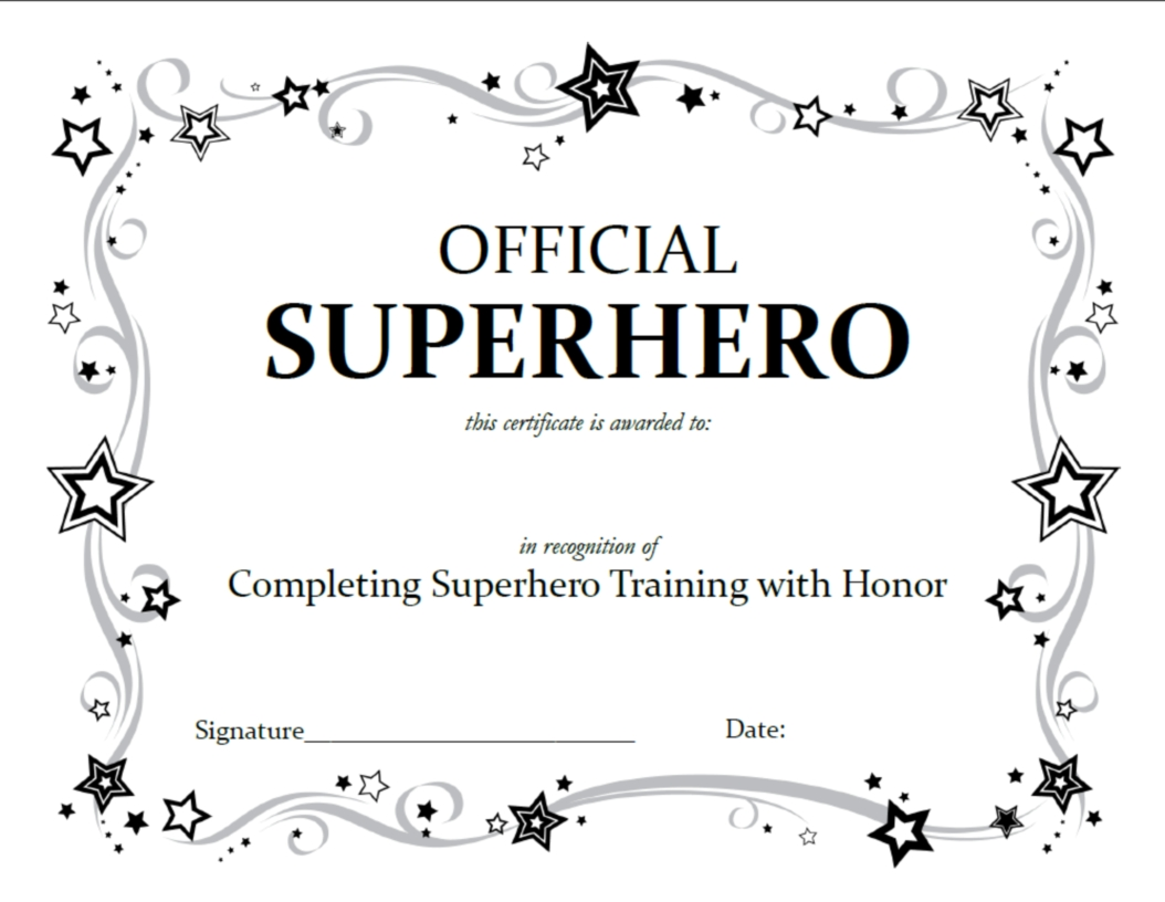 Superhero Squad Party Activities