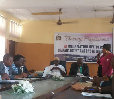 Training Of Osun lnformation Officers Kick Started Today-BolaEshosBlog