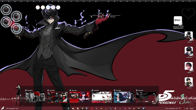 Persona 5 Theme Win 7 by Andrea_37
