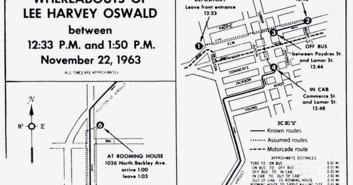 DVP's JFK ARCHIVES: OSWALD TIMELINE (PART 1)