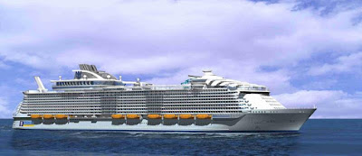 Royal Caribbean's Harmony of the Seas - Currently the largest Cruise Ship