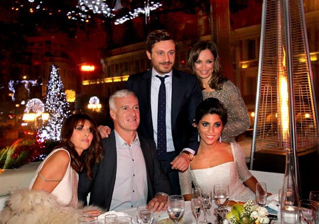 Claude Deschamps, Didier Deschamps, Juan Peña, Sonia Gonzalez Tarruellas, Raquel Torres