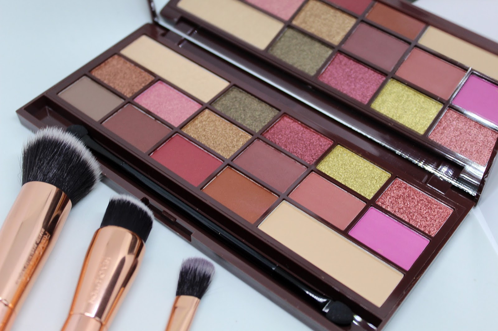paleta cieni   I Heart Makeup I ♡ Chocolate - Rose Gold.