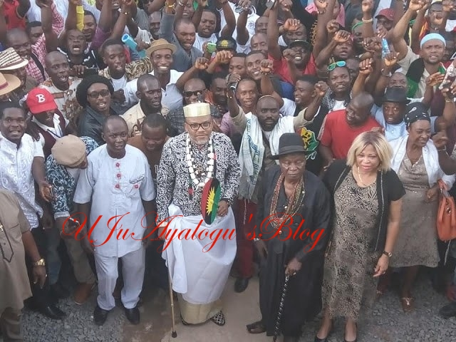 Nnamdi Kanu Reveals How Atiku Can Defeat Buhari In Court And Reclaim His 'Stolen Mandate'