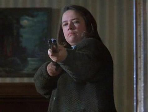 Annie Wilkes (Kathy Bates) en Misery - Cine de Escritor