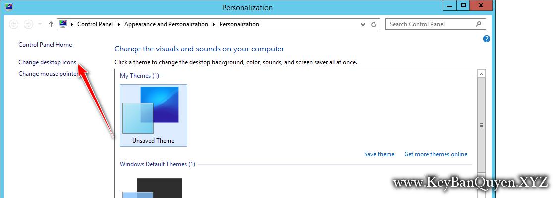 Hướng dẫn hiện My Computer ra Desktop trong Windows Server 2019