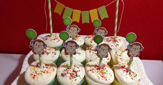 Chunky Monkey Birthday Party