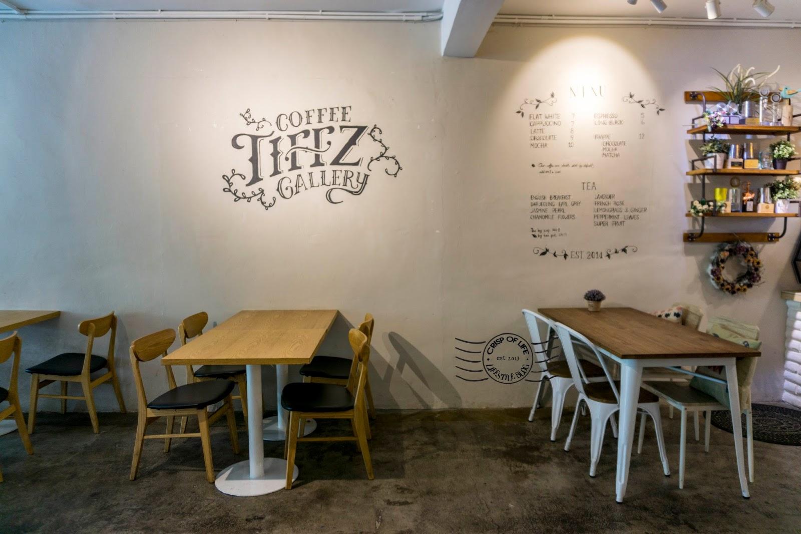 Tiffz Coffee Gallery Cafe Alor Setar Kedah
