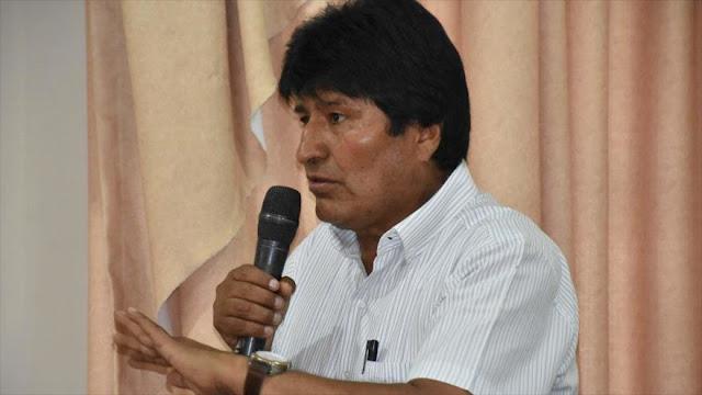Morales ve el capitalismo de Trump 'peor crimen' en el mundo