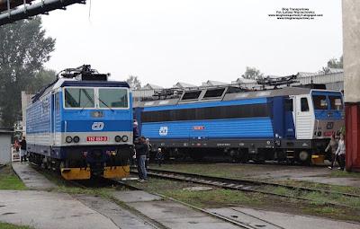 162 053-3 i 163 047-4, České dráhy