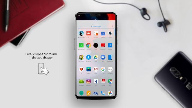 Ganti Aplikasi OxygenOS  dengan Google Apps di OnePlus 6
