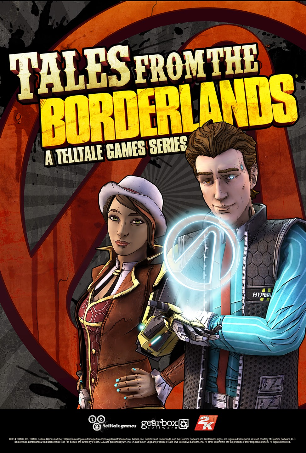 Tales From The Borderlands PC Cover Caratula