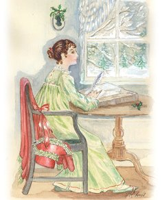 Jane Austen Writing by Jane Odiwe