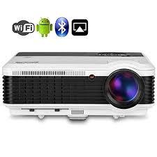 EUG 1080P Wireless Projector