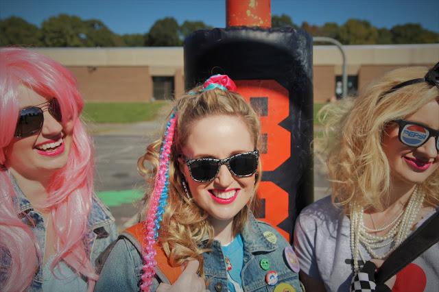 Harris Sisters GirlTalk: 1980s Halloween Costumes