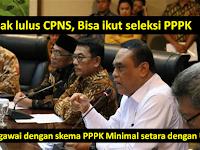PPPK Bukan hanya untuk Eks Honorer K2 yang Tidak Ikut CPNS, Yang Gagal CPNS juga Boleh Mendaftar