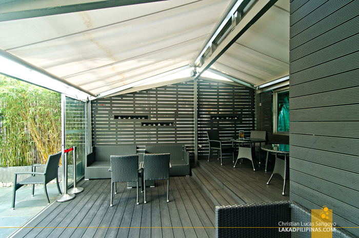 Cosmo Hotel Wan Chai The Patio